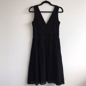 Calvin Klein Cotton Sundress with Ribbon Trim